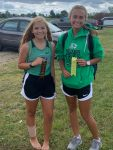 Girls Varsity Cross Country finishes 7th place at Northwood Invite @ Stauffer Park
