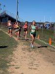 Girls Varsity Cross Country finishes 13th place at New Prairie Invitational