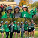Girls Varsity Cross Country finishes 7th place at Sectional (Erskine Golf Course)