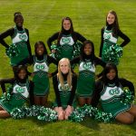 2013 JV Football Cheerleading Team Picture
