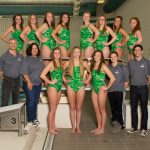 2013-2014 Girls Swimming Team Picture
