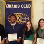 Fall 2014 Kiwanis Athletes of the Season