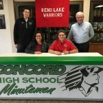 Jake Vernon Signs With Rend Lake College