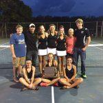 Concord Girls Tennis – 2015 NLC Champions!