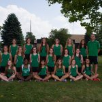 2015 Girls Cross Country Team Picture