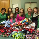 Concord Girls Golf Team Donates to Child And Parent Services