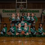 2015-16 Basketball Cheerleading Team Pictures