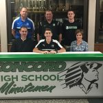 Nate Conder Signs With St. Francis University