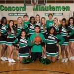 2016-17 Basketball Cheerleading Team Pictures