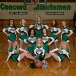 2017-18 Basketball Cheerleading Team Pictures
