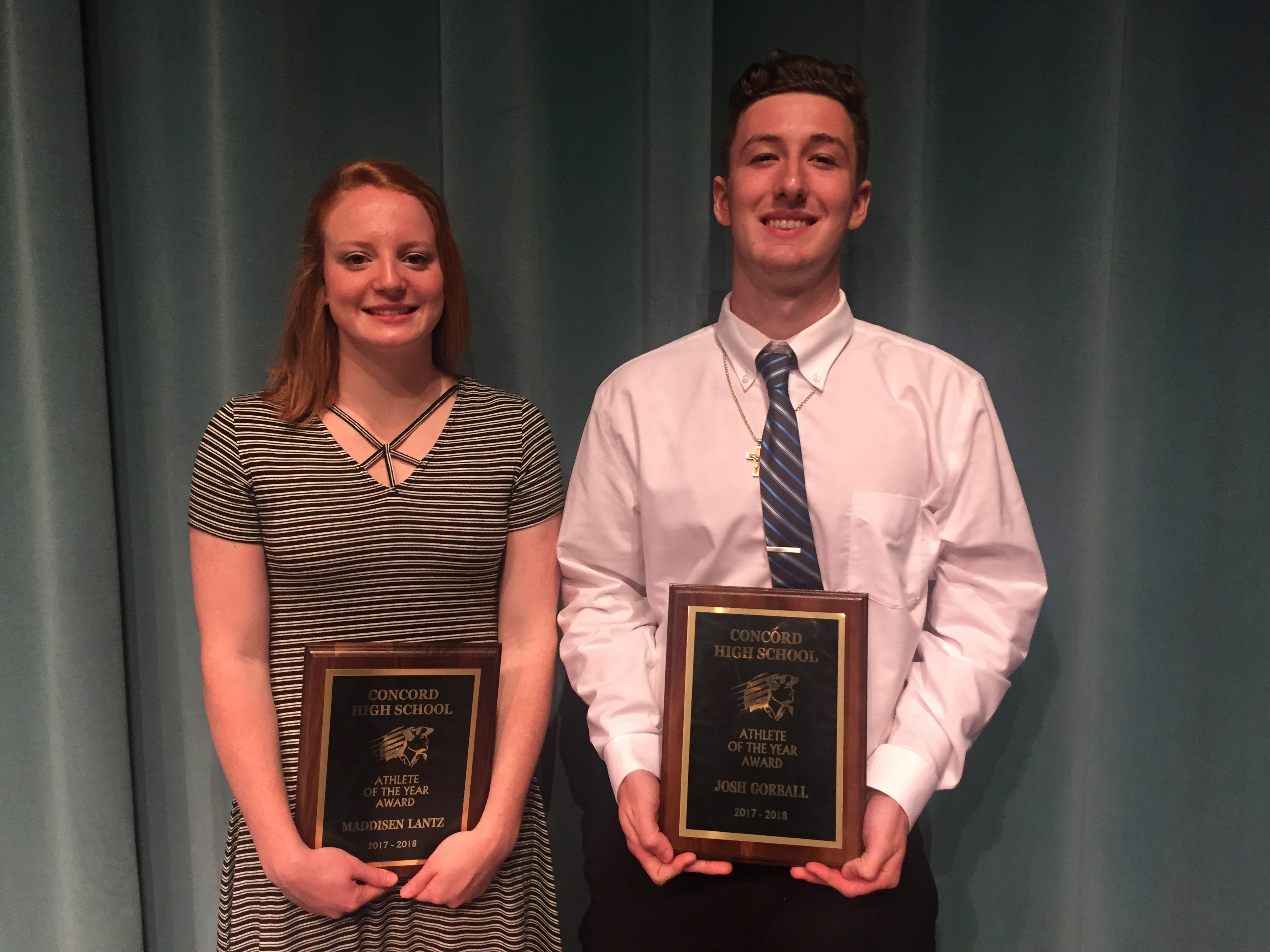 2017-2018 Athletic Department Award Winners