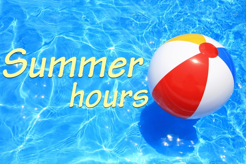 Athletic Office Summer Hours