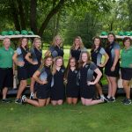 2018 Girls Golf Team Picture