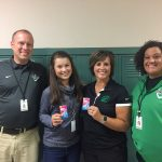 Evelyn Theinert & Coach Boessler Earn Exemplary Sportsmanship Reports!