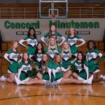 2018-19 Basketball Cheerleading Team Pictures