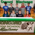 Nine CHS Athletes Sign Letters of Intent