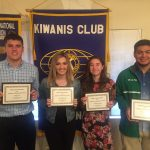 Fall 2019 Kiwanis Athletes of the Season