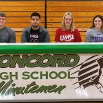 Four CHS Athletes Sign Letters of Intent