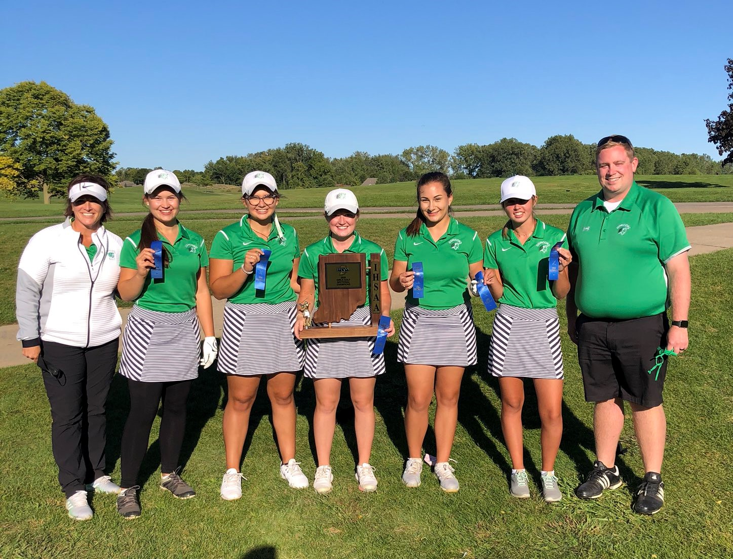 Concord Girls Golf – 2020 Sectional Champions