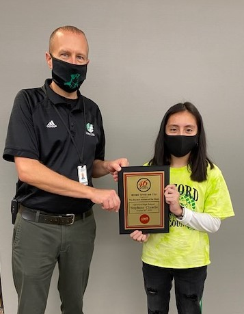 Stephany Claudio Named TV-46 Student Athlete of the Week