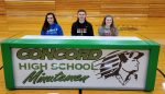 Three CHS Athletes Sign Letters of Intent