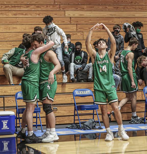 Boys Basketball Sectional – March 2, 2021 (Photos courtesy of Branden Beachy)