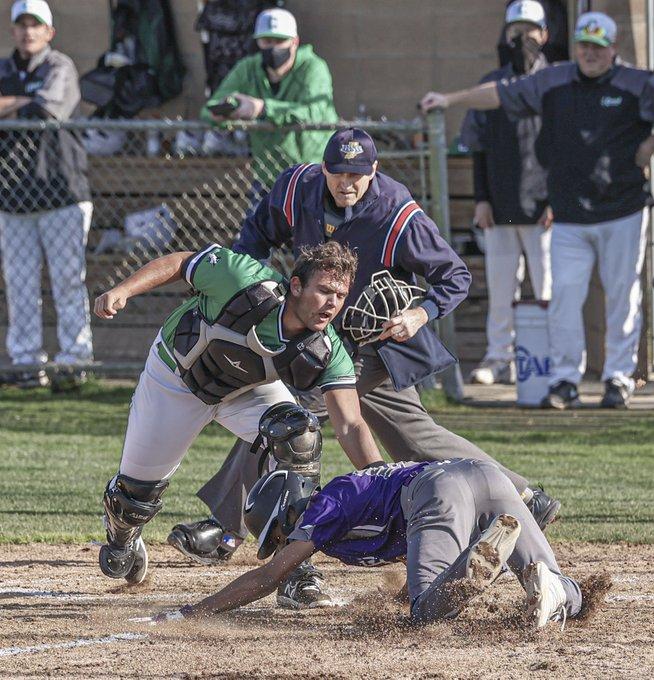 Baseball vs. ECA – April 12, 2021 (Photos courtesy of Branden Beachy)