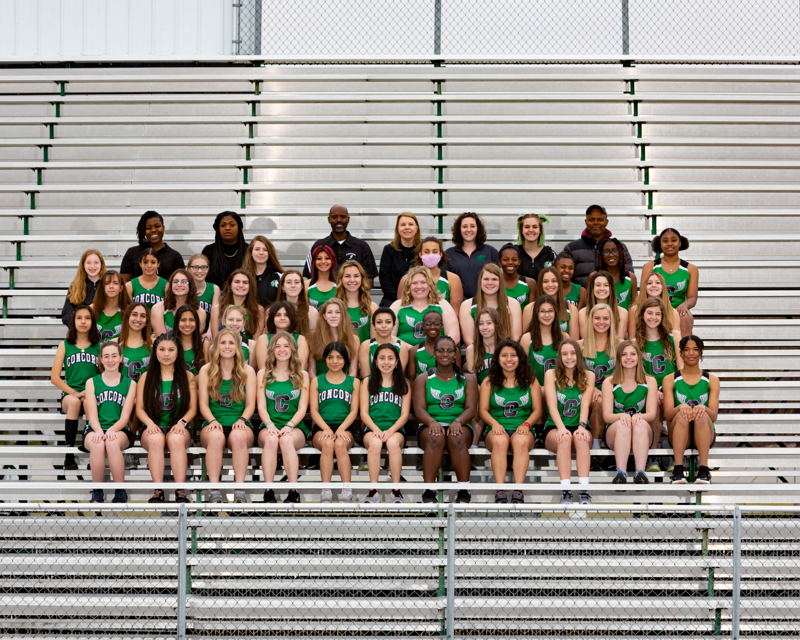 2020-21 Girls Track Team Pictures