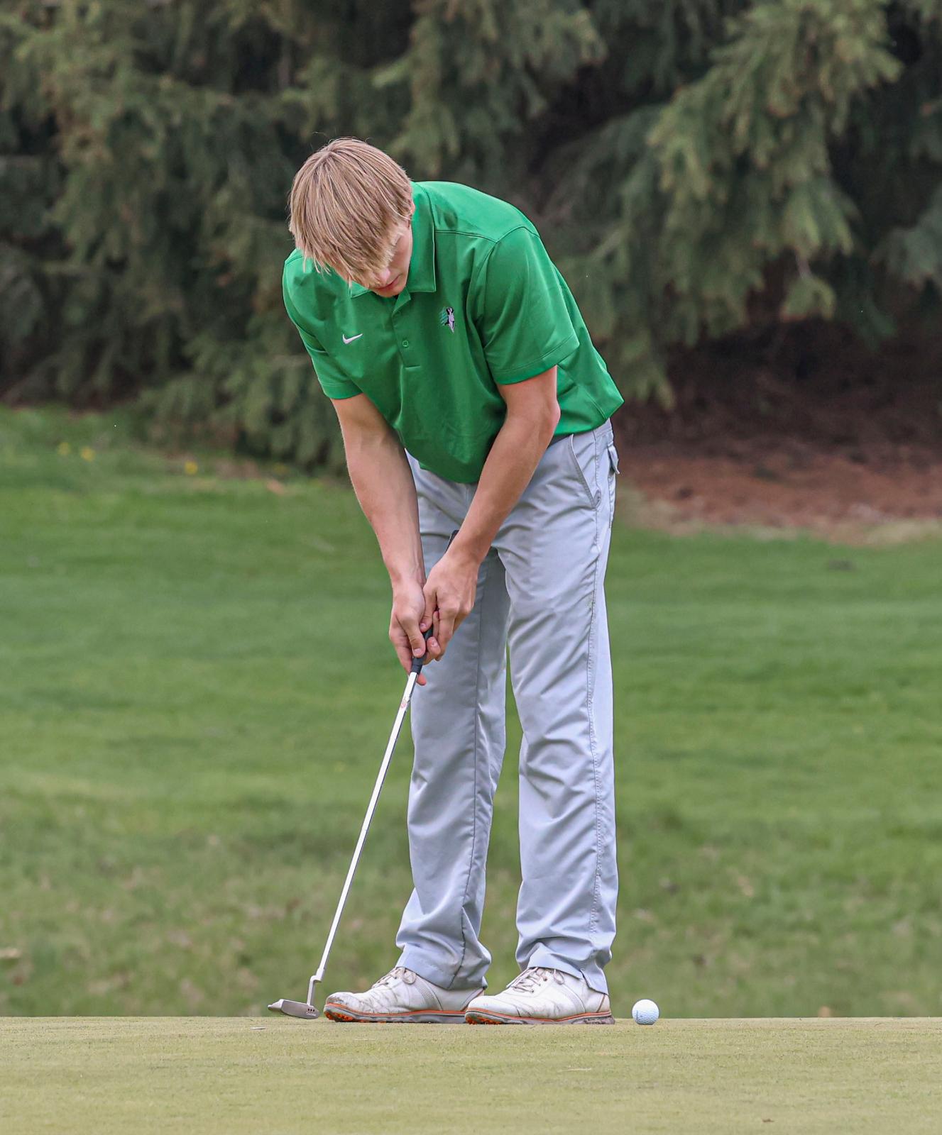 Boys Golf at Goshen Invitational – April 17, 2021 (Photos courtesy of Branden Beachy)