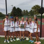 JV and Varisty Girls Tennis Take Region Titles