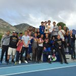 Boys Track with Back to Back State Championship Wins
