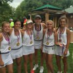 Girls Tennis takes 2nd at the St George Invitational