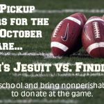 St. John's vs Findlay Pack a Pick up Night