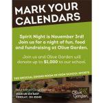 Olive Garden Fundraiser