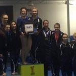 Gymnastics Team are TRAC Champions