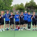 2019 Boys Varsity Tennis with St. Johns 4-2-19