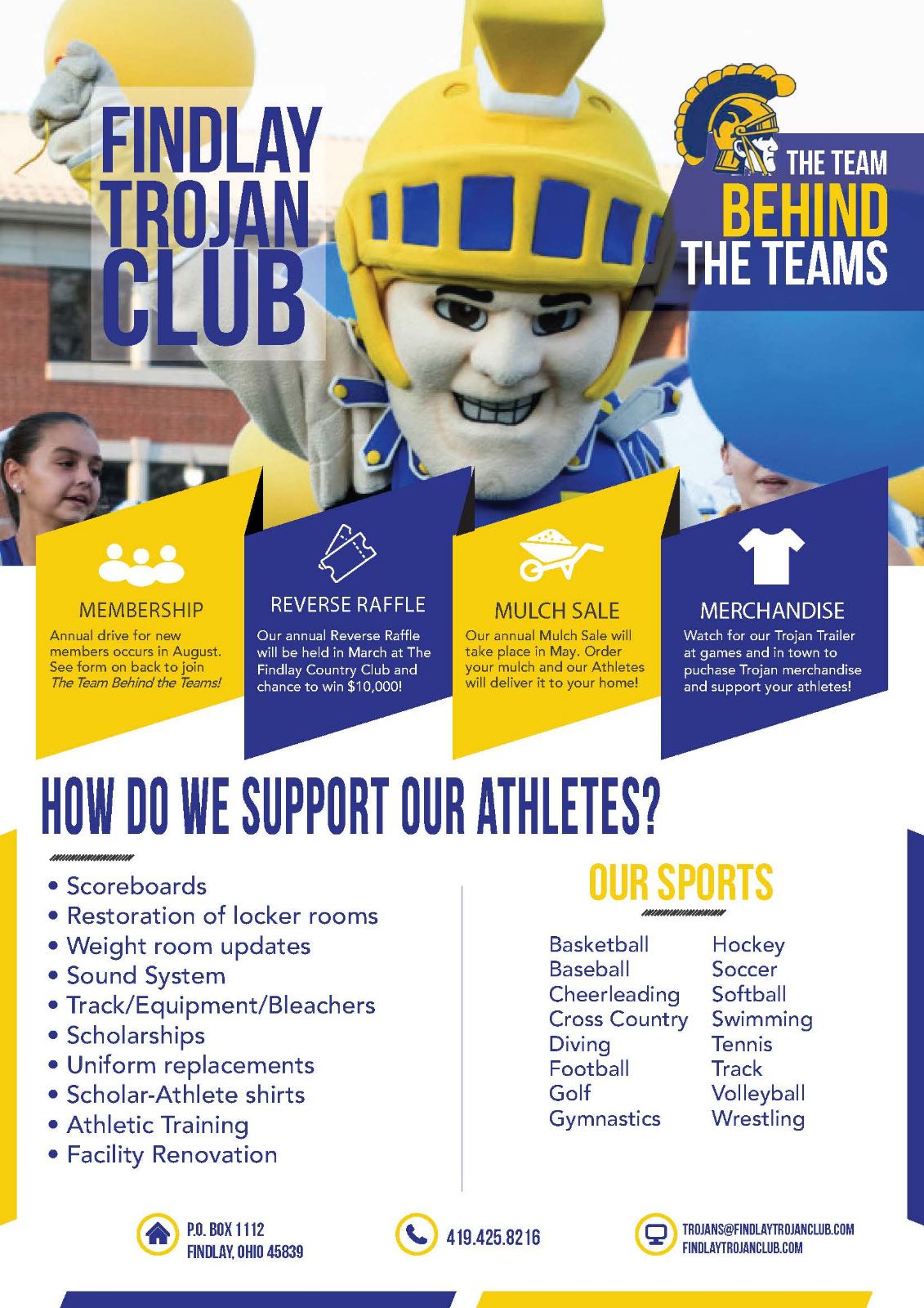 Join the Trojan Club Today