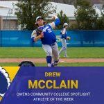 Owens Community College Spotlight Athlete of the Week