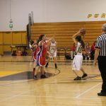 Girls basketball win first game of tournament