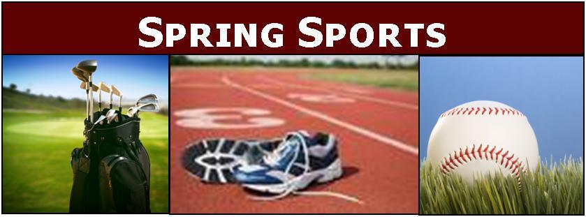 spring sports season things softball athletics west