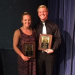 "Seniors Spencer Johnson & Mary Akin Selected ""Blazer of the Year"""