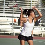 Girls Tennis Stumbles in Match Against EDHS