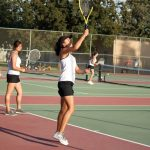 Girls Tennis Shuts Out Hanford West