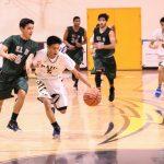 Trailblazer Basketball Splits With The Miners