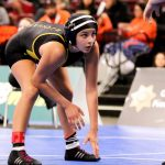 Jackie Flores Wrestles At CA State Championship Meet