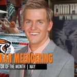 Georan Meendering Named UOP's May Competitor Of The Month