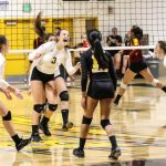 Girls Volleball Takes Down TUHS In Three