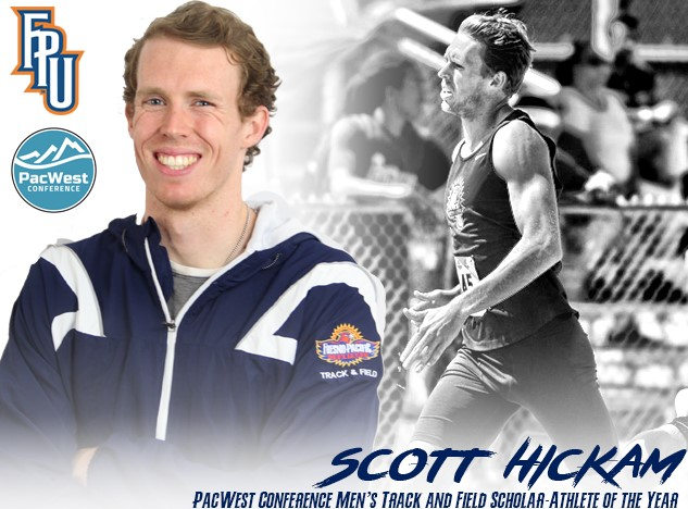 GW Alum Scott Hickam Tabbed as Scholar-Athlete of the Year by PacWest