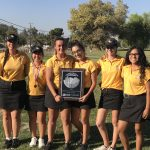 GW Girls Golf Place 2nd In Valley Championship Tournament