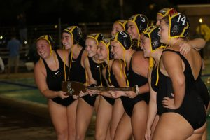 BATTLE FOR THE PADDLE Girls Varsity Water Polo vs El Diamante 10-25-18